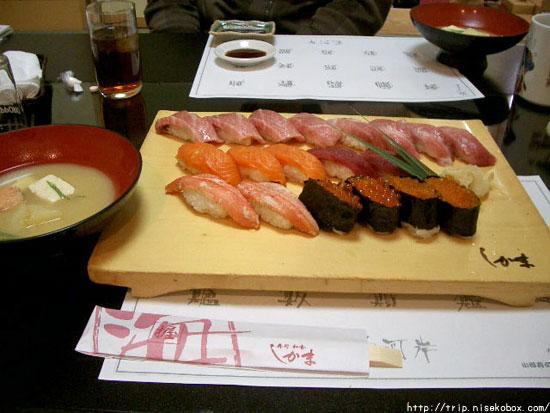 お寿司ドーン!