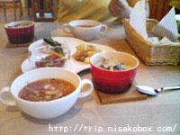 夕食(携帯写真のみ)